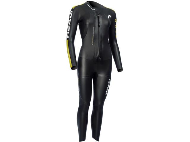Head SwimRun Race Suit Dame black /gold